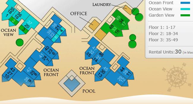 Plantana condo locations